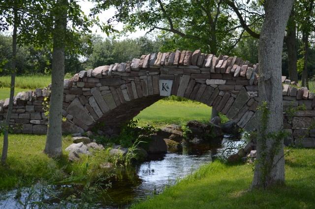 Dry stone bridge at Karlo Estates Winery